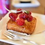 40047935 - デニッシュ・フランボワーズ:木苺とサクサクの生地がマッチしてとても美味しかった♪