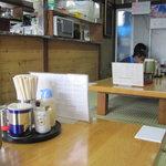 みんみんラーメン - 食堂っぽい・・・渋すぎる
