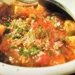40050474 - 麻婆トマトモッツァレラ豆腐