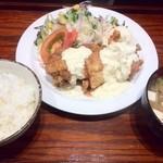 40050513 - 鶏南蛮定食 3つ