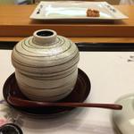 琥珀 - 柳川風 冷し茶碗蒸し