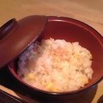 さがみ - 紫 (ゆかり) & トウモロコシの炊き込みご飯 アップ♪w