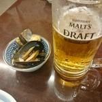 40053201 - 生ビールとお通し