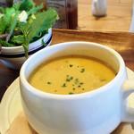 40053630 - コーンスープというか野菜スープ?