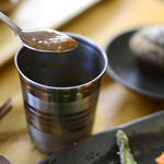 デチビカ - 海南鶏飯のソース
