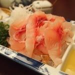 富松うなぎ屋 - 鯉のアライ550円久々(*^^*)美味し~酢みそで