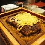 富松うなぎ屋 - セイロは文句なしですね~ふっくら鰻。。熱々で染みたご飯が 注文後すばやく出て来ました