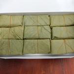 40055917 - 鯖の柿の葉寿司9個入り1080円