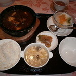 中国料理 桃華樓 - 桃華楼ランチ(麻婆豆腐)