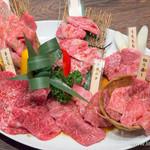 焼肉 房家 - 房家6種盛り【2015年7月】