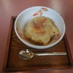 成寿庵 - 料理写真:アイスの天ぷら ¥180-
