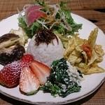 40057946 - カラフルで野菜たっぷり