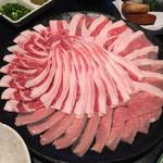 40058703 - 六白黒豚のしゃぶしゃぶ肉