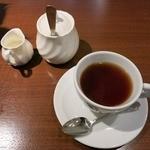 デル・ソーレ - ・「日替わりランチ(\972)」のコーヒー。
