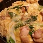 地鶏料理 味千両 - 親子丼 京風の雄780円