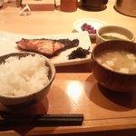 味処 藤の坊 - 焼き魚「黒むつ柚香焼き」