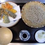 寿々喜そば - 野菜天せいろ ¥1000