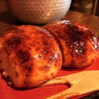 忠治茶屋 - 料理写真:焼きまんじゅう