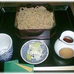 蕎麦彩膳 隆仙坊 - せいろそば 850円