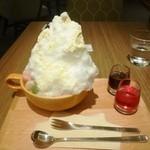 40063094 - 横町かき氷・選べる4種のスパイスソース(濃縮紫蘇シロップ・ゆず黒蜜シロップ)