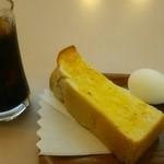 喜与女茶寮 - アイスコーヒーモーニング370円