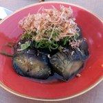 まんざら - 茄子の揚げ煮(594円)