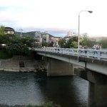まんざら - 床席から見た団栗橋