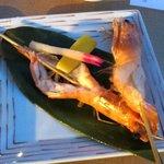 まんざら - 天使の海老塩焼き(756円)