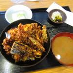 えび田 - 上天丼セット¥1,290