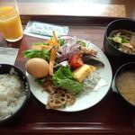 ベイサイド - 朝食バイキング①(2015.7.10)