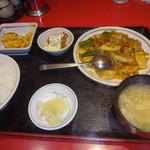 楓林 - 豚四川香りいため定食