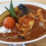 庄風堂 - 夏野菜カレー  780円