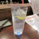 鶏とハイボール フライングチキン - レモンハイ2015.07.15
