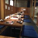 九州 熱中屋 - 座敷席