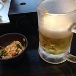 40069255 - 酢モツと生ビール