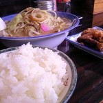 らーめん薩摩 - 料理写真:ちゃんぽん定食:880円