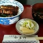 やまの - 料理写真:まぶし丼 1200円