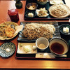 Tochigiya - 料理写真:二合盛り天ぷら付