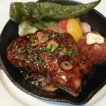土佐バル - お肉コース  豚肩肉のポワレ