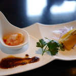 大淀河畔 みやちく - 料理写真:前菜