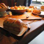 此方 - 棚のパン