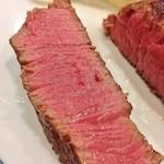 40075343 - 肉を切ってみました