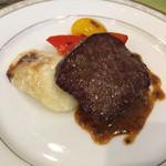 40075461 - オーストラリア産牛のステーキ