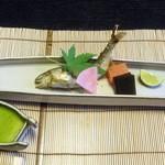 和心亭 豊月 - 焼物:和歌山鮎塩焼き