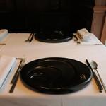 レストラン マノワ - 27年7月 テーブルセッティング