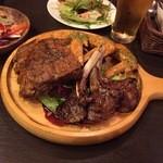 池袋 肉バル中町 - 骨付きコンボ