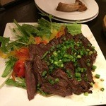 池袋 肉バル中町 - ハラミステーキ