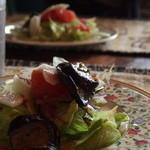 Cafe Bresse - セットのサラダ