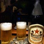 ナチュラル・スピリット - まずはこのビールからのスタートです。サッポロの赤星です。ぷふぁ~。やっぱり赤星は美味しいですね。