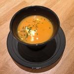 chano-ma - ランチのスープ